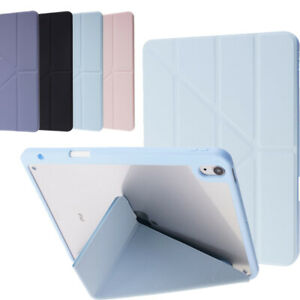 For iPad 5 6 7 8th 9th Gen Air Pro 10.9 11 Case PU Leather Folding Smart Cover