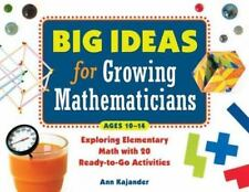 Big Ideas for Growing Mathematicians: Exploring Elementary Math with 2-ExLibrary