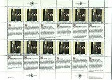 "Nations Unies New York 1992 - Michel n.640/41 - Blocs ""Droits de l'Homme"""