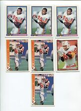 Jesse Anderson 7 card lot Mississippi St. Bulldogs / Tampa Bay Buccaneers