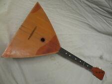 Vintage  Balalaika Russian Guitar - missing a string - reasonable condition