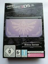 New Nintendo 3DS XL Hyrule Edition Gold Schwarz - 32GB - IPS oben - Sehr gut