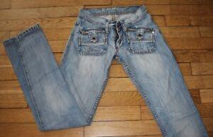 MC LEM Jeans pour Femme W 22 - L 34 Taille Fr 32 CLEOPATRE(Réf #O089)