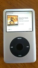 Refurbished Apple iPod Classic 7th Gen Silver 160GB. New battery, New exterior.