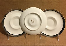 Mikasa Bone China Solitude TWO to EIGHT Saucers, Excellent condition!