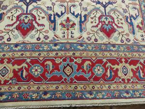 9'x12' New Fine Caucasian Pakistani Super Kazak hand knotted wool Oriental rug