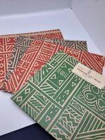 lot of 8 pieces vintage Hawaiian gift wrap Lanakila Crafts