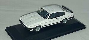 Corgi Vanguards VA10819 Ford Capri Mk3 2.8i New Issue. Diamond White. 1/43 scale