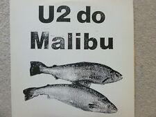 U2 do Malibu Double Vinyl Live from Dublin 2/26/80