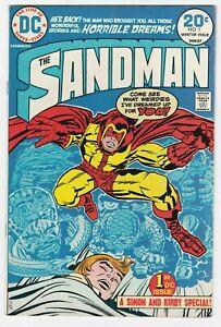 Sandman #1 VF-NM 9.0 Jack Kirby Joe Simon First DC Issue Super Hero