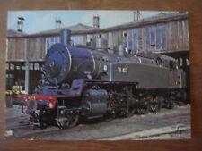 Train - Trein - SNCF - Locomotive 141TB 407 de 1913  - dépôt Ajecta Longueville