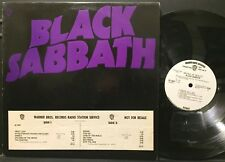Black Sabbath Master Of Reality USA 1971 WHITE LABEL PROMO LP With Poster