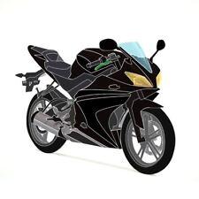 Full 20 Piece Fairing Panel Kit Black/Black for Yamaha YZF-R125 08-13