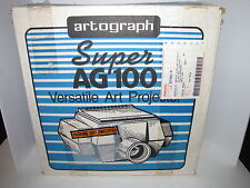 ARTOGRAPH SUPER AG100 ART PROJECTOR WITH PIN 200-378 SUPER LENS