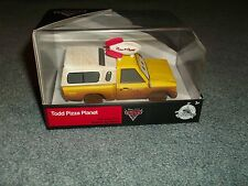 Disney Store Exclusive Model Pixar Cars 3 Todd Pizza Planet 1:43 Scale NEW