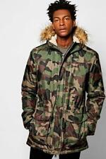 Cappotti e giacche da uomo con pelliccia taglia L
