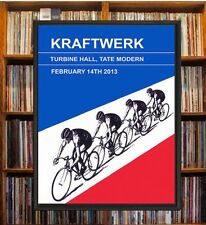 Kraftwerk London Concert Poster