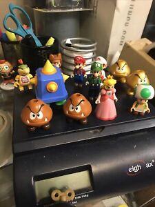 Lot of KNEX 2013 Super Mario Nintendo Mini Figures - K'NEX, Great Shape Clean