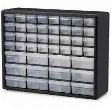 Small Parts Storage Cabinet Drawer Bin Organizer Box 44 Drawers Bins Metal Craft
