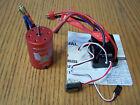 Redcat Volcano EPX Pro Hobbywing WP-10BL60-D Brushless ESC &3300kv 540 Motor Red