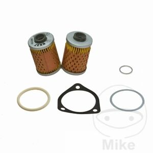 For BMW R 80 RT/2 Monolever 1990 Mahle Oil Filter (Without Oil Cooler)