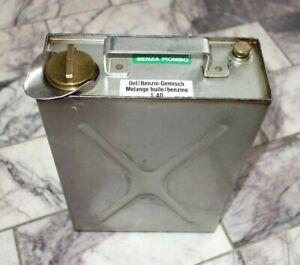 Edelstahlkanister hochwertig - VA - mit Messingverschraubung - SCHWEIZER ARMEE