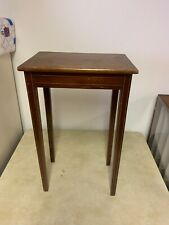 Vintage Square Wooden End Side Table 21x13x9