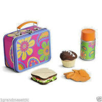 NIB ~ American Girl Julie's School Lunch ~ Lunchbox Cupcake Thermos Pail Chips