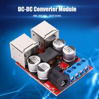 DC Buck Step Down Power Converter Module DC/DC 12V 24V 8~35V to 5V 8A 4-Port MS