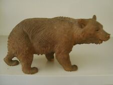 A Black Forest bear with glass eyes     21/303S