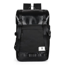 Leisure Unisex Covered Rainproof Backpack USB Charging Port Business laptop bags