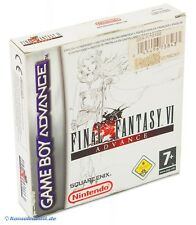 GameBoy Advance Spiel - Final Fantasy VI / 6 Advance (US) (mit OVP)