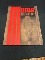 Motor MAGAZINE JUNE JANUARY 1940 Old Car Magazine Great Info And Pictures