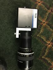 Ccd Camera Dalsa Cl-C3-2048A-243M With Nikkor Lens 105mm, Industrial Quality Ins