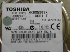 80 GB Toshiba MK8052GSX HDD2H05 E UK01 T / LVD10J / G002217A 2,5 Zoll Festplatte
