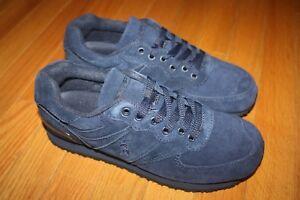 New In Box Men's Ralph Lauren Polo Slaton II Suede Sneakers Shoes SHIP FREE US