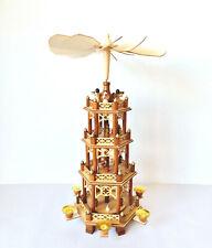 Weihnachtspyramide Tischpyramide Weihnachtsdekoration Adventszeit Kerzen 50cm