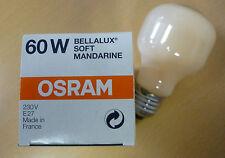 OSRAM Ampoule bellalux SOFT MANDARINE ORANGE E27 T60 60W Bella T60 Mand 60