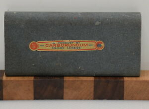 Vintage Carborundum Co. No. 181 Sharpening Stone Slip (INV J007)