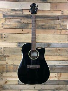 Takamine EG531SC Black Acoustic Guitar *Non-Functioning Electronics*