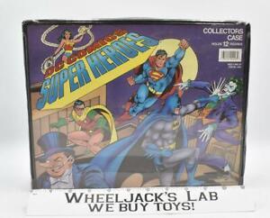 #1 DC Comics Super Heroes 12 Figure Collectors Case 1989 Toy Biz