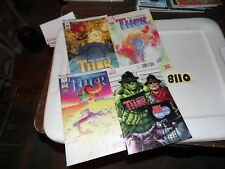 Thor Marvel Legacy Lot #700 (comic con variant) #701 #702 and #703