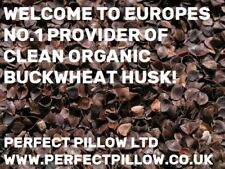 ORGANIC BUCKWHEAT HUSKS HUGE 20K SACK - FREE P&P - FANTASTIC VALUE!