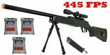 445 Fps ZM51G Spring Bolt Action Green Airsoft Sniper Rifle 6mm Gun + 3,000 Bbs