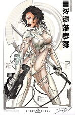 Jamie Tyndall Zenescope Comic Artist SIGNED Art Print ~ Ghost in the Shell