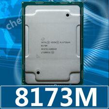 Intel Xeon Platinum 8173 м SR37Q 28-Core 2.0GHz Skylake-SP процессора процессор