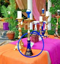 Zeus Luxury Hookah Ares Shisha Pipe,  Flavour x 1, Charcoal x 1, Mouth Tips x 4
