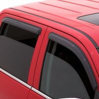 Rain Guards AVS Tape-On Window Visors FOR Chevy Silverado 1500 Ext Cab 14-18
