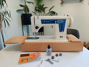 Alfa 472 Zigzag Semi Industrial Heavy Duty Sewing Machine Upholstery Leather