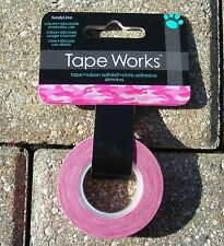 Tape Works Pink Camo Adhesive Washi Tape NIP